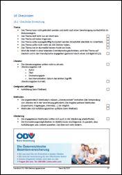 Checkliste VWA-Einreichung